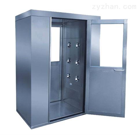 上海风淋室  不锈钢单人双吹风淋门