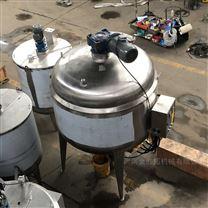 定制不銹鋼電夾層鍋建筑膠水反應釜