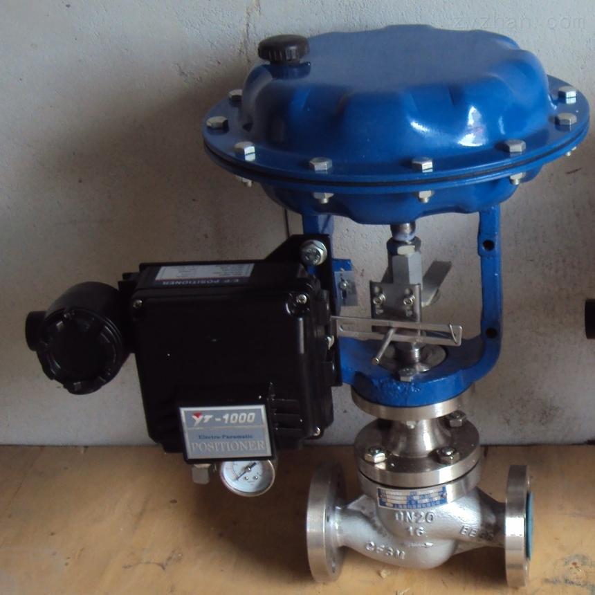 鑄鋼,碳鋼氣動薄膜單座/套銅調節閥