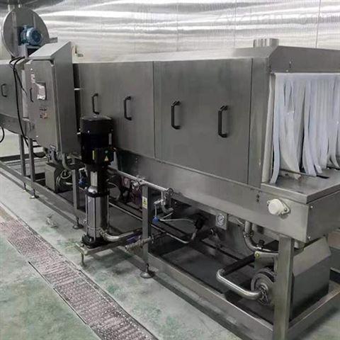DRT塑料长方托盘高压喷淋洗净设备