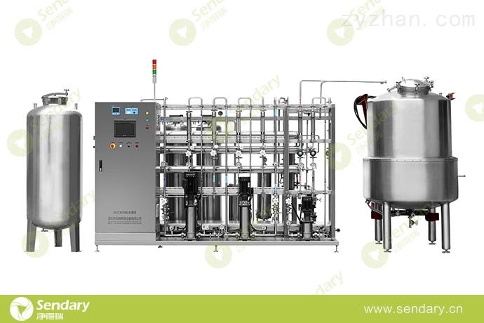 中藥飲片用水系統純化水設備