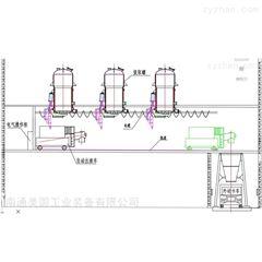 二楼定制中药自动挤渣除渣出渣系统