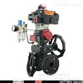 VT2BDF33A燃气介质碳钢气动防爆型球阀