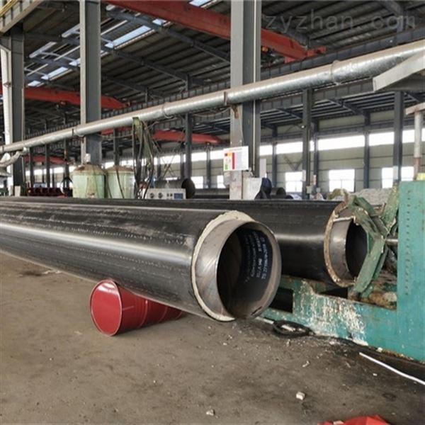 600钢套钢耐高温蒸汽直埋发泡保温管
