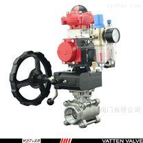 1000wog螺紋球閥標準氣動排水閥