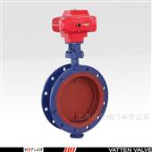 VT1BDW39A电动高温蒸汽硬密封蝶阀 VOCS零泄漏通风阀