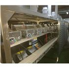 隧道式微波食品連續殺菌干燥設備