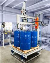棧板式4桶或多桶分層定量稱重灌裝機噸桶IBC桶兼容通用