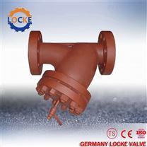 进口铸钢Y型过滤器德国洛克现货供应
