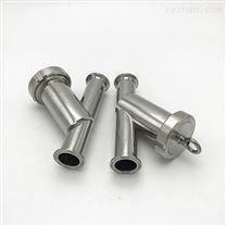 卫生级不锈钢快装式y型过滤器现货 量多从优