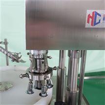 HCGX-50/100型灌装机生产厂家糖浆口服液灌装旋轧盖机