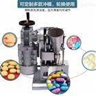 WYP-1.5中药店加工304不锈钢涡轮单冲消食片压片机