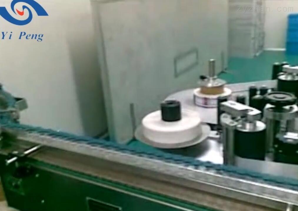 上海屹鵬-西林瓶貼標機