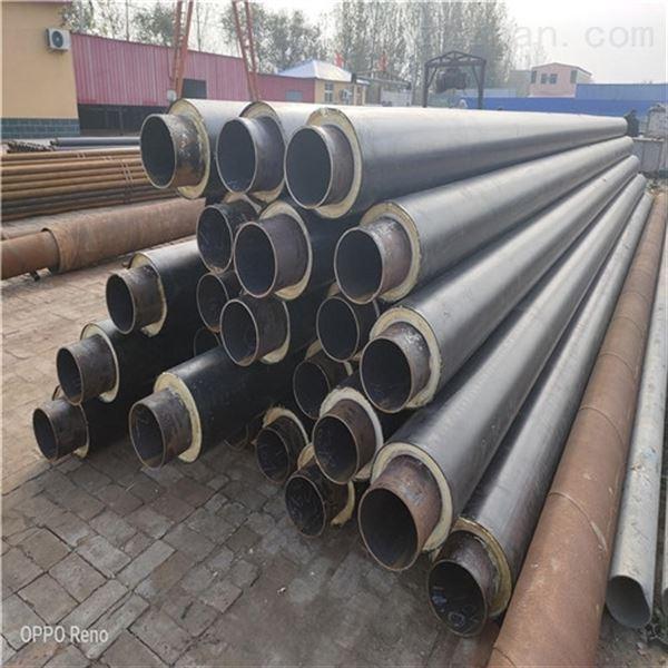 DN400聚氨酯热力输送直埋保温钢管