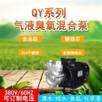 气浮处理设备QY20-1不锈钢溶气混合泵