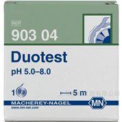 Duotest pH 5.0-8.0 双色pH试纸