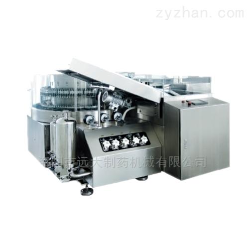 立式超声波夹瓶式高速洗瓶机
