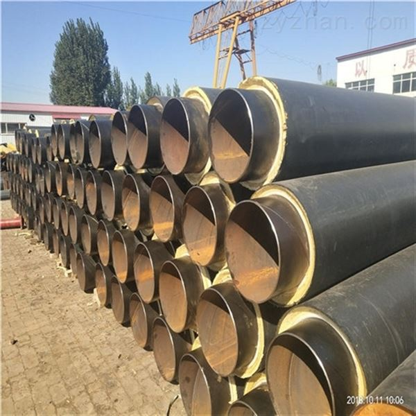 DN500聚氨酯预制直埋式架空蒸汽保温管