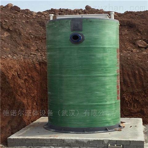 城乡污水提升一体化泵站造价