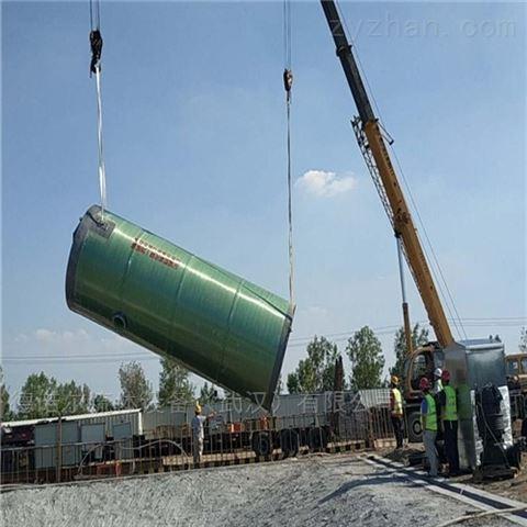 智能预制污水提升泵站造价