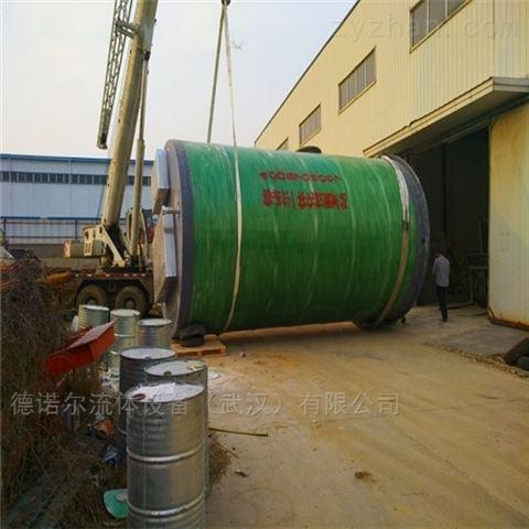 生活给水一体化防汛泵站定制