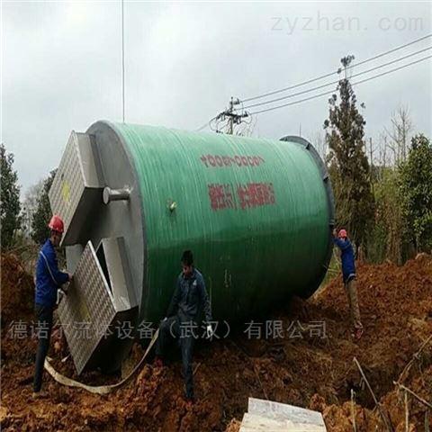 玻璃钢一体化预制泵站用途