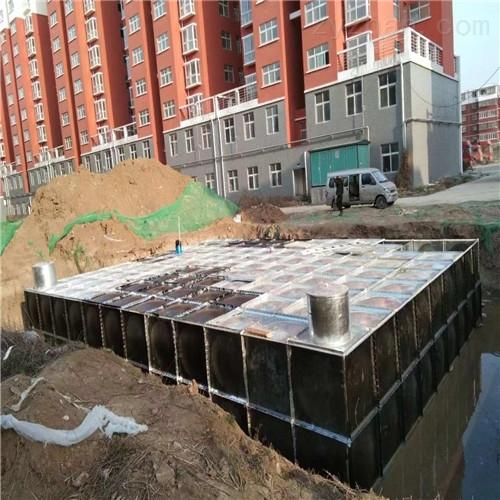 安庆地埋式一体化消防水池