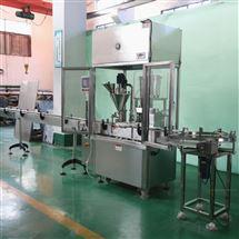 HCFGX单工位粉剂灌装轧盖机