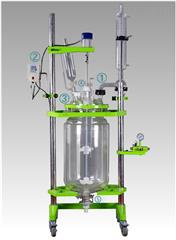 标准型变频调速双层玻璃反应釜