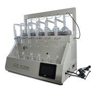 一ti化智能蒸馏仪CYZL-6称zhong型氨氮蒸馏装zhi