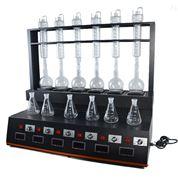 水質分析揮發酚蒸餾裝置CYZL-6C一體式