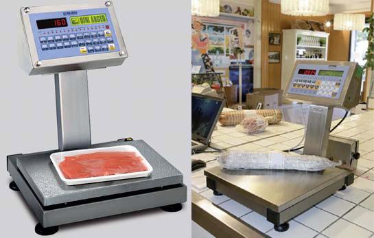 食品产防水不锈钢电子秤