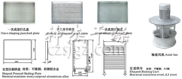 CT-C系列热风循环烘箱配件